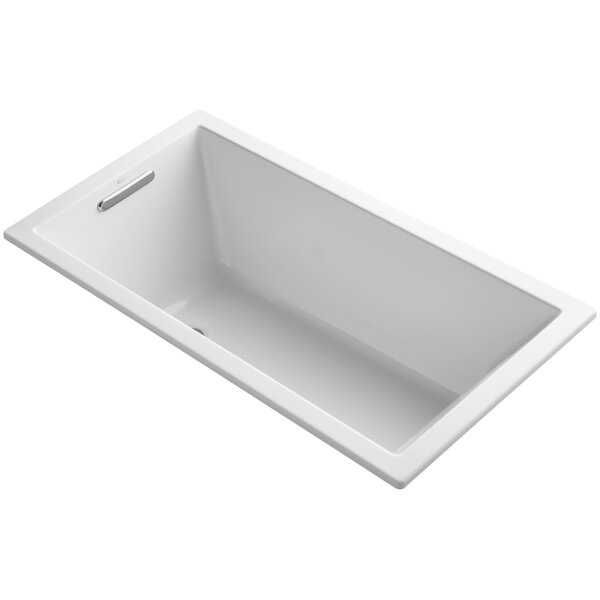 Underscore Vibracoustic 60 x 32 Soaking Bathtub by Kohler