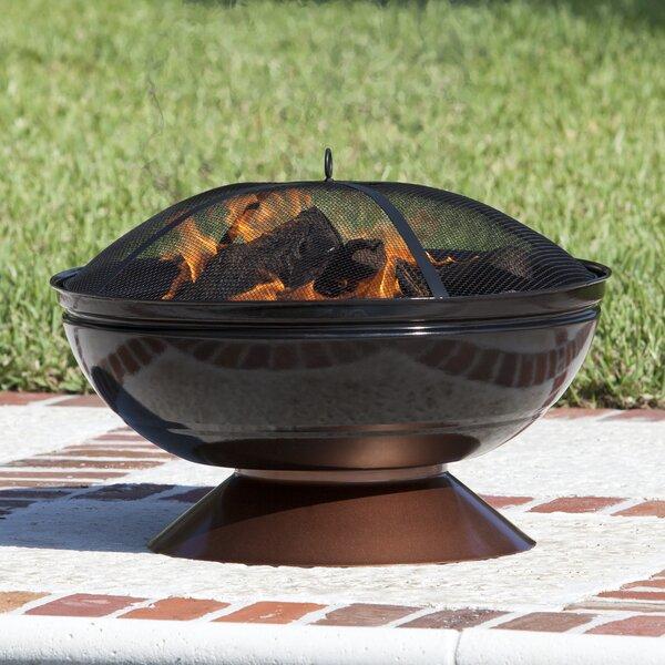 Steel Wood Burning Fire Pit by Fire Sense