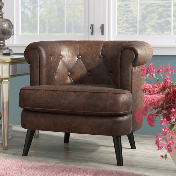 Gistel Barrel Chair by House of Hampton