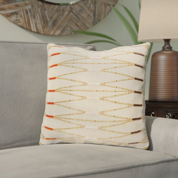 Chopra Cotton Throw Pillow by Bungalow Rose
