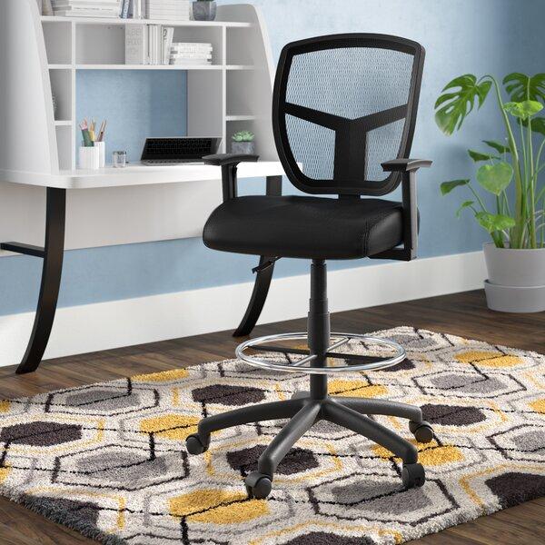 Lyla Mesh Drafting Chair by Zipcode Design
