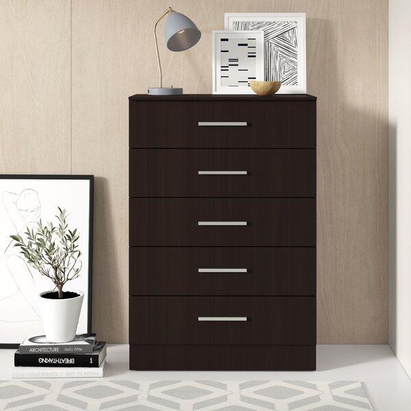 Ludie 5 Drawer Dresser by Zipcode Design