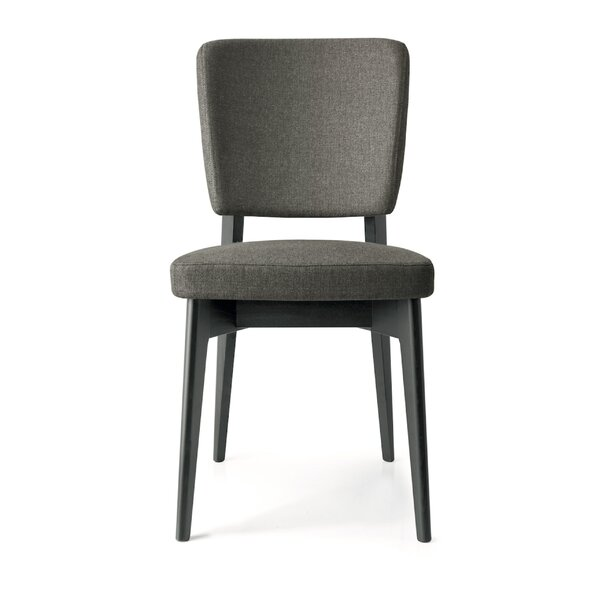 Mikhail Upholstered Wooden Side Chair by Ebern Designs