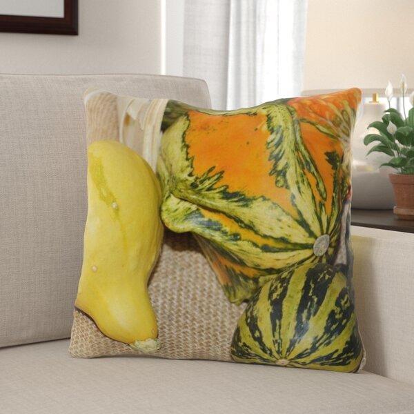 Hatten Pumpkins Indoor/Outdoor Throw Pillow