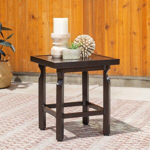 Outdoor Metal Side Table by La-Z-Boy