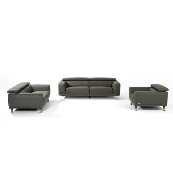 Rhea Eco-Leather Armchair by Wade Logan