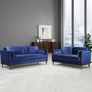 2 Piece Living Room Set by House of Hampton®