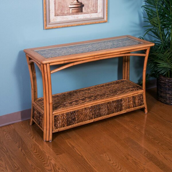 Bay Isle Home Brown Console Tables