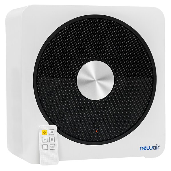 Quietheat15 1500 Watt Electric Fan Compact Heater by NewAir