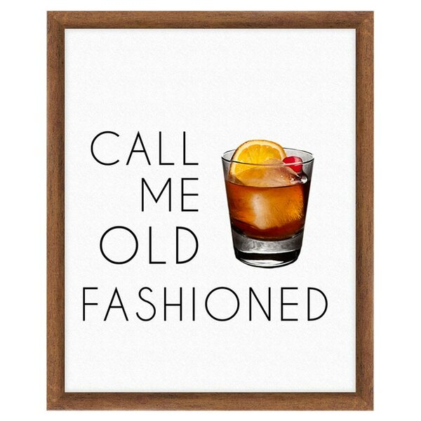 Old Fashioned Print