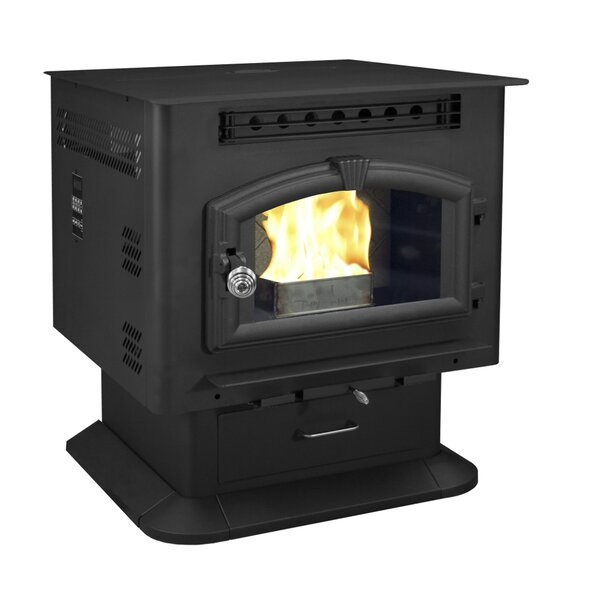 Pedestal Model 2,500 sq. ft. Vent Free Pellet Stove by United States Stove Company
