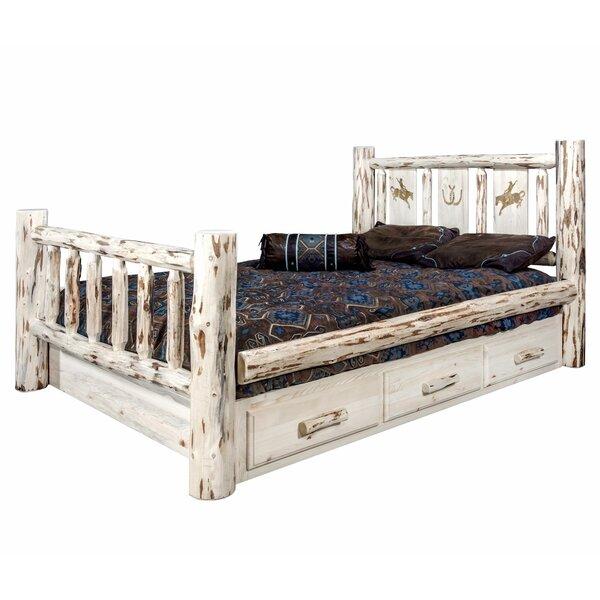 Antigo Twin Storage Platform Bed by Millwood Pines