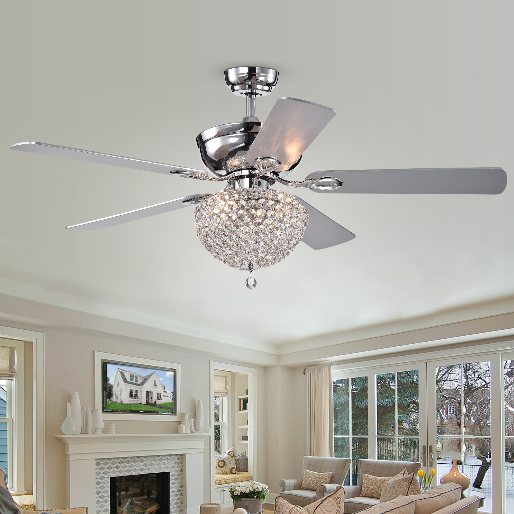 Hampton Yandell 5 Blade Ceiling Fan