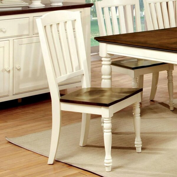 Asuka Solid Wood Dining Chair (Set Of 2) By August Grove