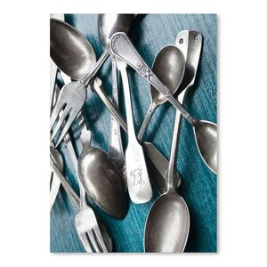 'Silver Spoons' Photographic Print by East Urban Home