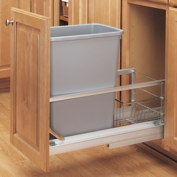 18 Pull out Trash Can by Rev-A-Shelf