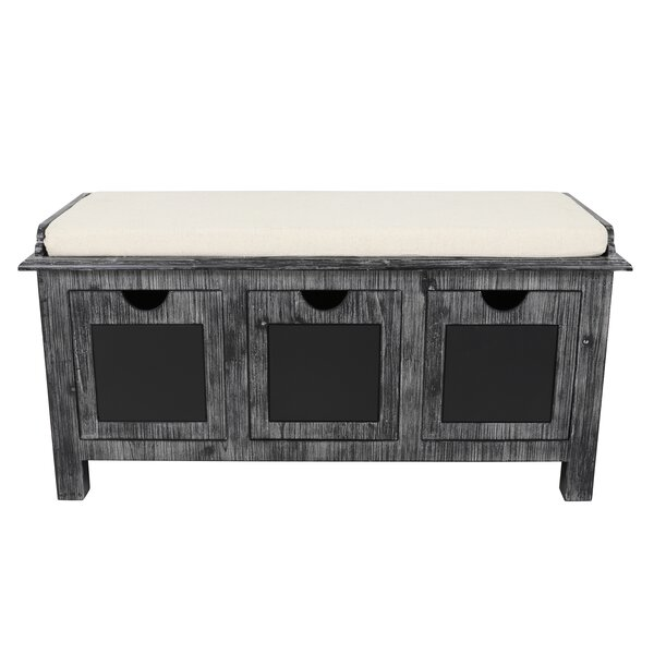 Winsted 3 Drawer Upholstered Storage Bench by Gracie Oaks Gracie Oaks
