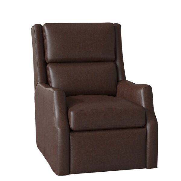 Thomas Leather Power Wall Hugger Recliner by Bradington-Young Bradington-Young