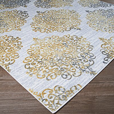7 X 9 Yellow Amp Gold Area Rugs You Ll Love In 2019 Wayfair