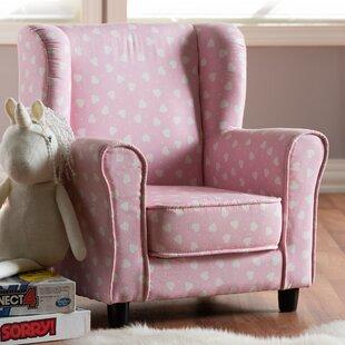 Affordable Hemel Heart Kids Club Chair ByHarriet Bee