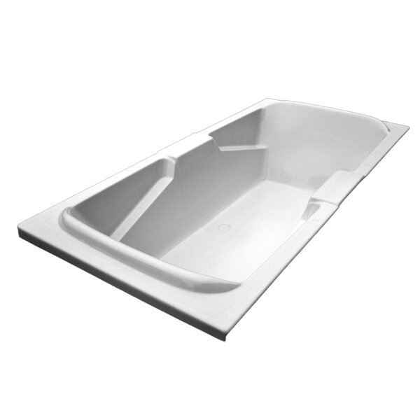 72 x 36 Arm-Rest Salon Spa Soaking Tub by American Acrylic