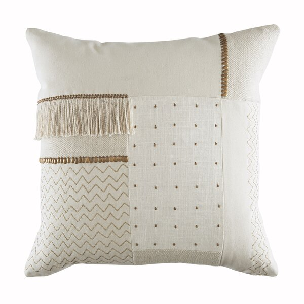 Cotton Throw Pillow by DwellStudio