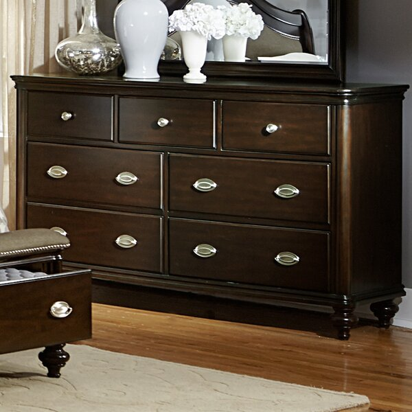 Nathaniel 7 Drawer Double Dresser By Darby Home Co