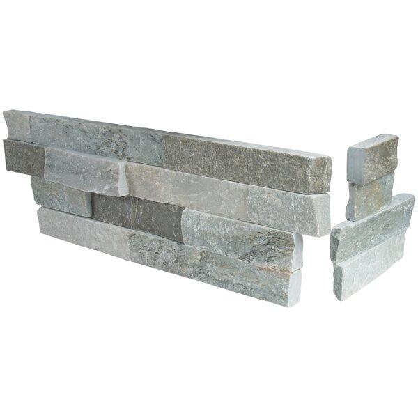 Sierra 6 x 12 Quartzite Stacked Stone Mosaic Tile