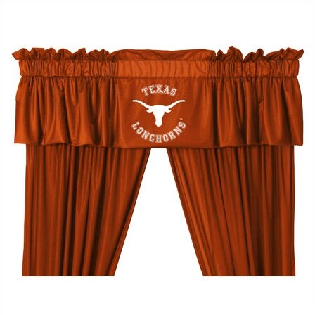 NCAA 88 Texas Longhorns Curtain Valance by Sports Coverage Inc.