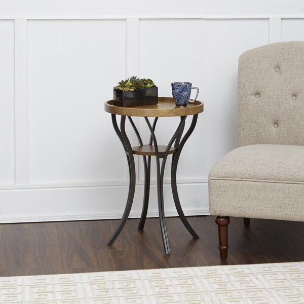 Elick End Table by Fleur De Lis Living