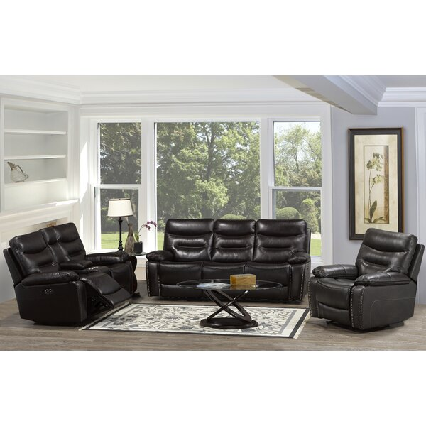 Arecibo 3 Piece Reclining Living Room Set by Red Barrel Studio