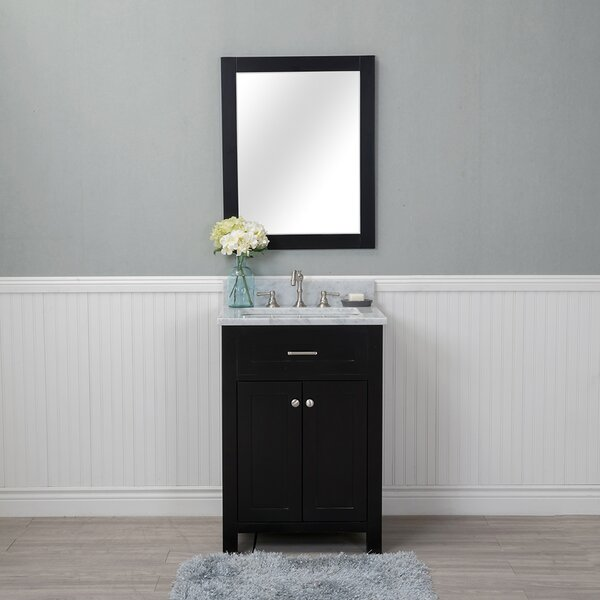 Costin 24 Single Bathroom Vanity Set with Mirror by Red Barrel Studio