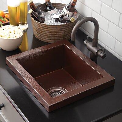 Bar Kitchen Sink Antique Copper photo