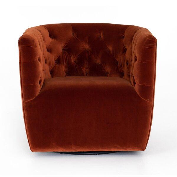 Doutzen Swivel Armchair by Brayden Studio Brayden Studio
