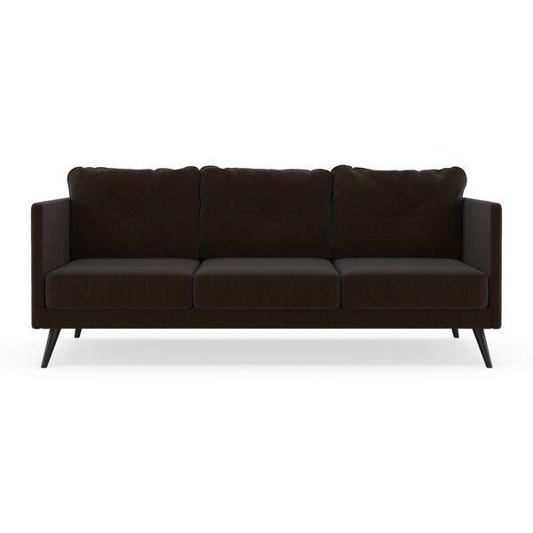 Schiavone Satin Weave Sofa by Orren Ellis
