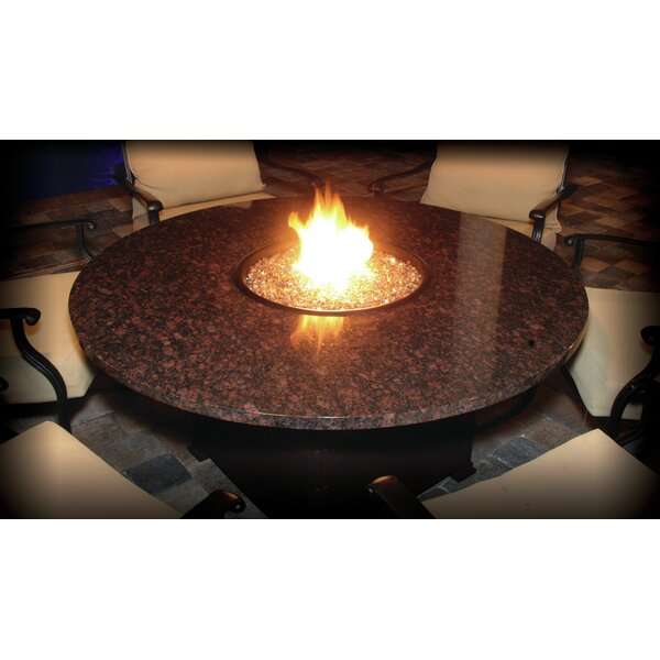 Alfresco Naples Aluminum Natural Gas Fire Pit Table by Firetainment