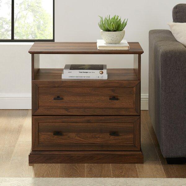 Buy Sale Watford 2 Drawer Side Table