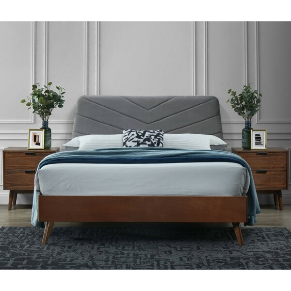 Campo Queen Upholstered Platform Bed by Corrigan Studio