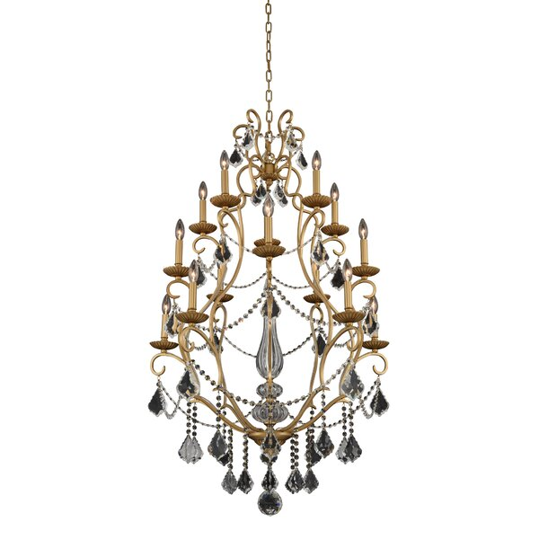 Celie 15 - Light Candle Style Classic Chandelier By Astoria Grand