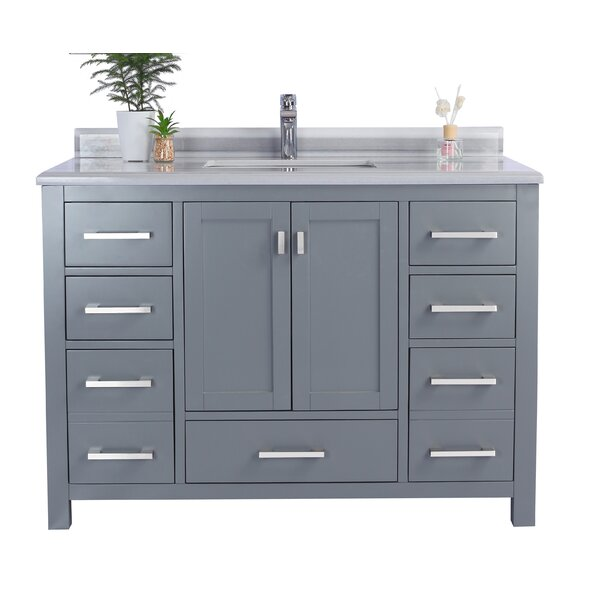 Mariário 48 Single Bathroom Vanity Set