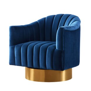 Superb Chambliss Velvet Swivel Barrel Chair Unemploymentrelief Wooden Chair Designs For Living Room Unemploymentrelieforg