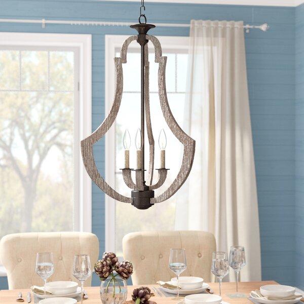 Marcoux 3-Light Lantern Pendant by Laurel Foundry Modern Farmhouse