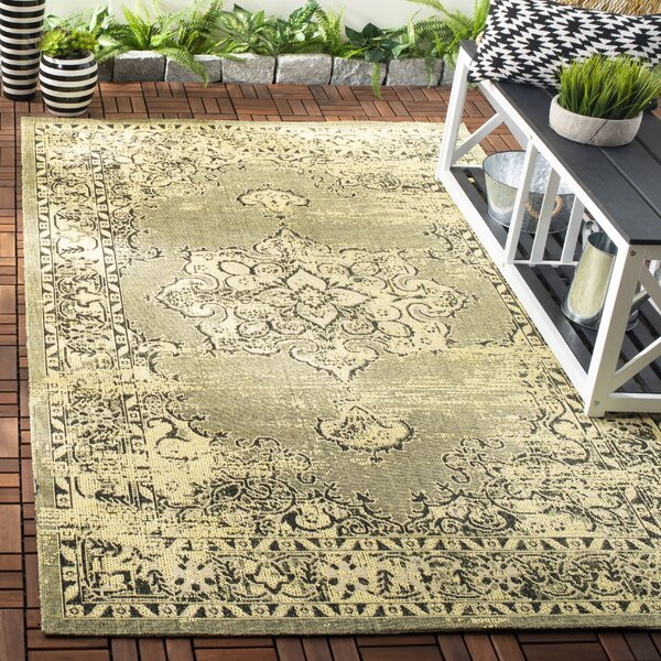 Trenton Yellow Area Rug  by Bloomsbury Market