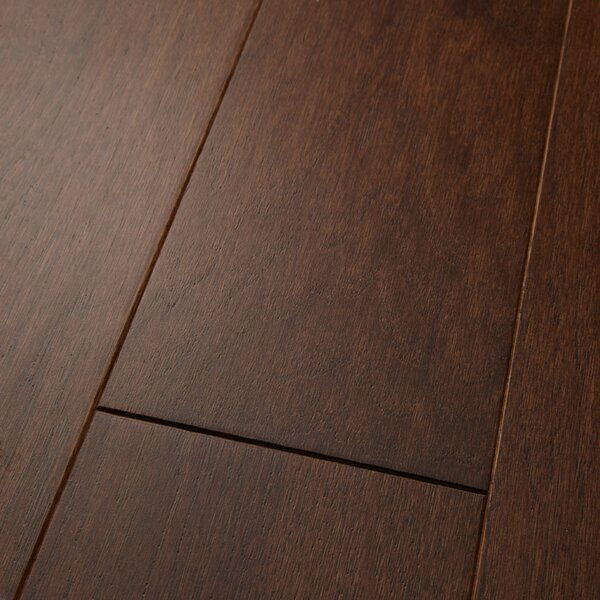 Americano 5 Engineered Hickory Hardwood Flooring in Sienna by Welles Hardwood