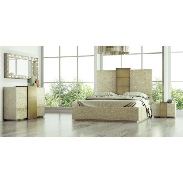 Helotes King 4 Piece Bedroom Set By Orren Ellis by Orren Ellis Today Only Sale