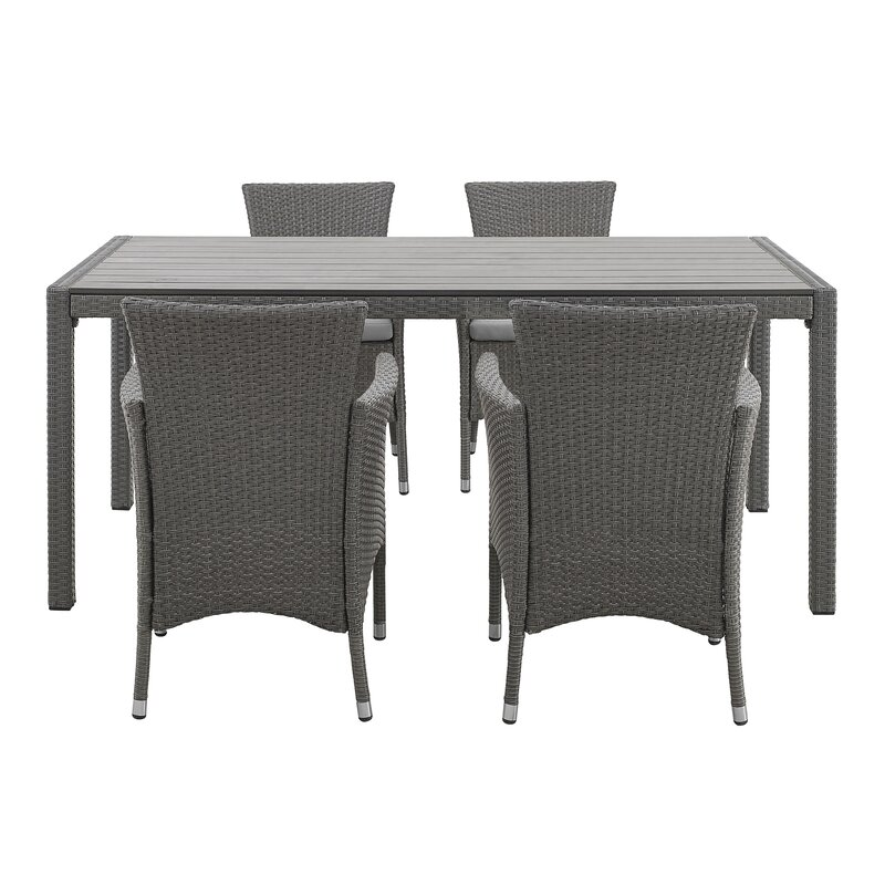 Angelo Home Baxter Patio Dining Chair With Cushion