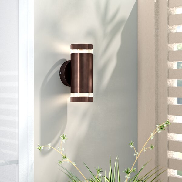 Braxton 2-Light Outdoor Sconce by Wade Logan