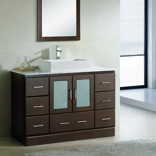 Rethman 48 Single Bathroom Vanity Set by Latitude Run