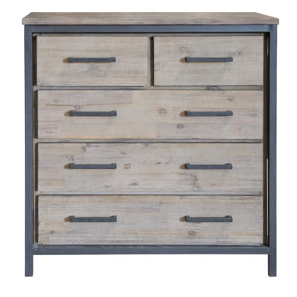 Wimberley 5 Drawer Chest by Union Rustic