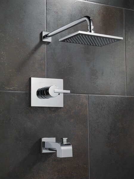 Vero 14 Series Volume Tub and Shower Faucet Trim with Lever Handles and Monitor by Delta